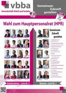 HPR-Wahlplakat